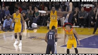 Kobe Bryant Yells at Jeremy Lin