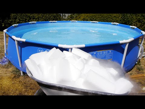 What Happens If You Drop Pounds Of Dry Ice In Giant Pool