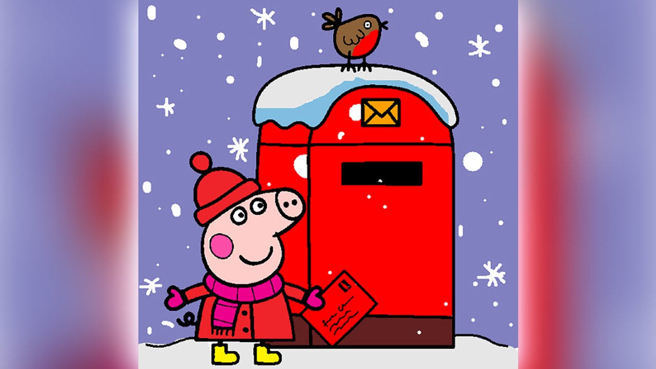 Christmas Abc Coloring Pages. Peppa Pig Coloring Pages for Kids  Games Christmas Letter Book