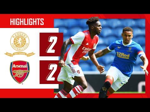 TAVARES SCORES ON HIS DEBUT | Rangers vs Arsenal (2-2) | Pre-season friendly | Tavares, Nketiah