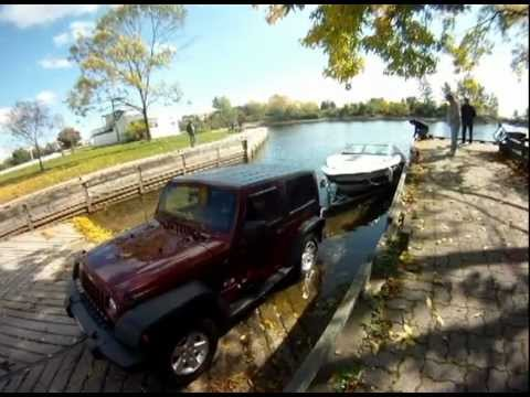 New Jeep Wrangler Unlimited Jeep Wrangler Boat Launch - YouTube