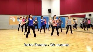 Killing Me Softly With His Song - Line Dance (Dance & Teach in English & 中文)