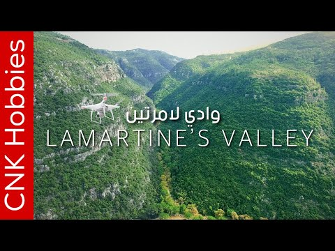 Lamartine's Valley Mount Lebanon | 4K Aerial video footage | وادي لا مارتين
