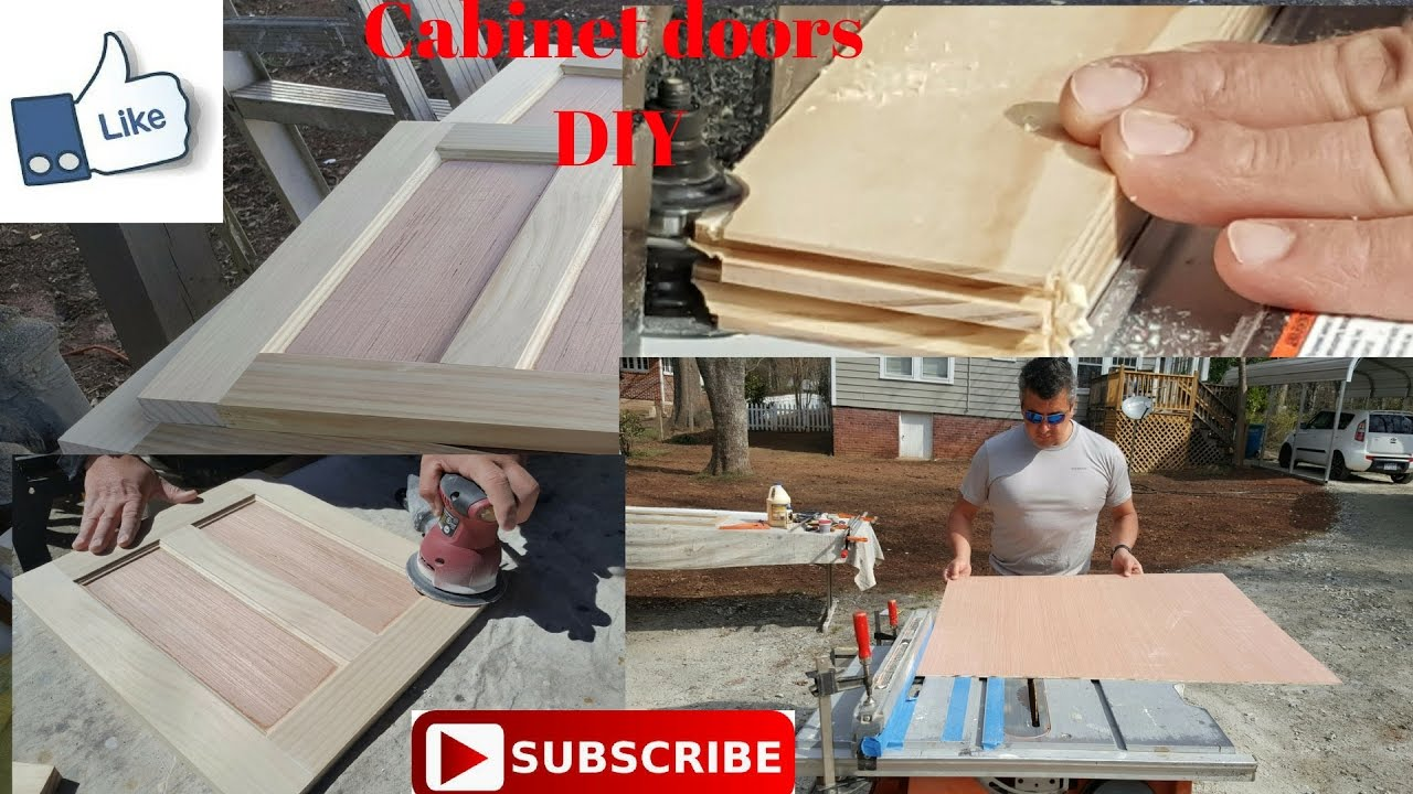 How To Make Cabinet Doors Easy Youtube