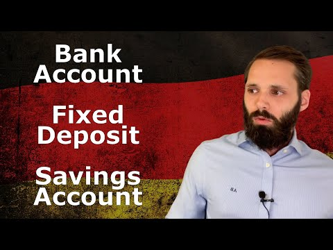 Investing in Germany [in 2021] - Bank accounts, Fixed deposits, Savings accounts, etc (3/10)