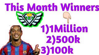 THIS💲MONTH💲WINNERS💲OF💲MY💲AMAZING💲SUBSCRIBERS💲Thanks For You