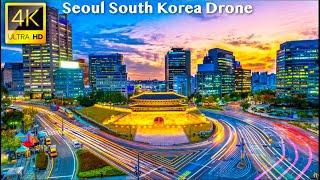 Seoul, South Korea - 4K UHD Drone Video