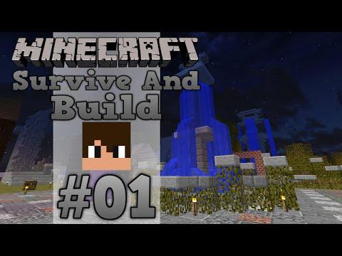 Survive And Build SMP - Епизод 01: Начална разходка
