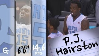 Official Highlights | North Carolina Guard P.J. Hairston