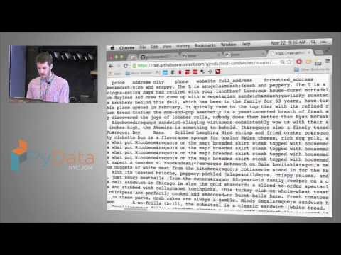 Greg Reda - Translating SQL to pandas. And back.