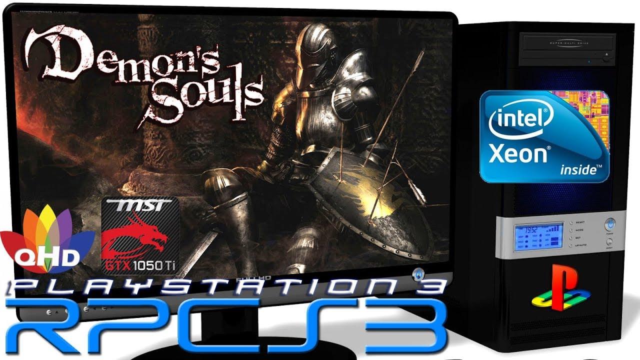 RPCS3 0 0 6 [PS3 Emulator] - Demon's Souls [Gameplay] Xeon E5-2650v2 #24 -  Gaming Gods