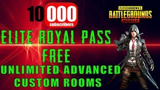 PUBG Mobile Advance CUSTOM ROOMS - SteamCard/Google/UC GIVEAWAY