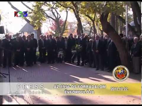 K23TV - Press iz prve ruke - Az 1956-os magyar forradalom évfordulója - 2012. október 22.