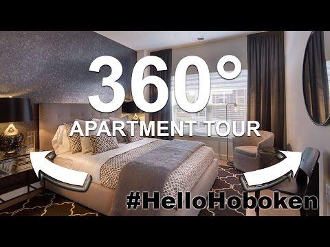 360° Video Apartment Tour in Hoboken, NJ | The Rivington  #HelloHoboken