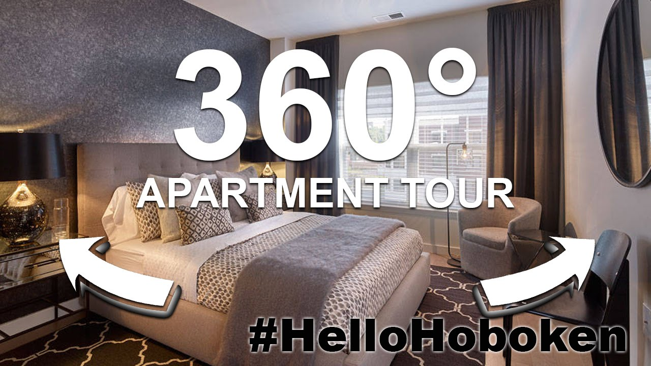 360° Video Apartment Tour In Hoboken, NJ | The Rivington #HelloHoboken    YouTube