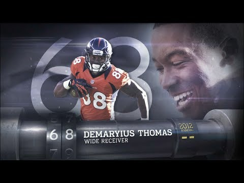 #68 Demaryius Thomas (WR, Broncos) | Top 100 Players of 2013 | NFL