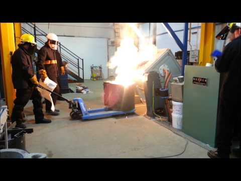 Precision Alloys Furnace Commissioning Melt