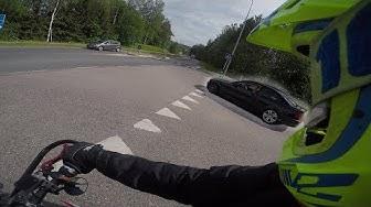BMW MIES Huutaa Autosta - 0-100 and Wheelie Progress