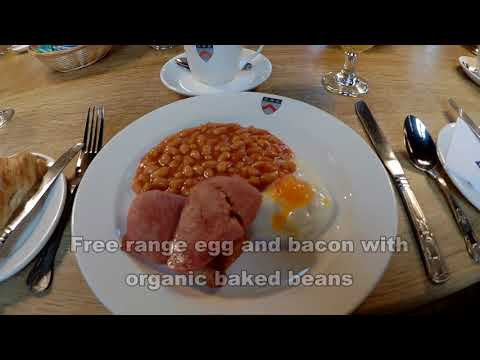 Breakfast at Keble College, Oxford, UK