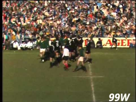Rugby: All Blacks v Springboks 3rd test 1976