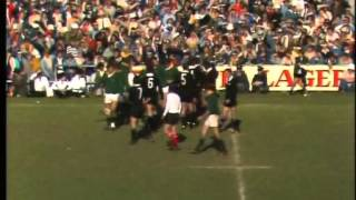 Rugby: All Blacks v Springboks 3rd test 1976