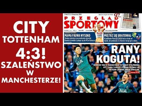 Manchester City - Tottenham 4:3! SZALEŃSTWO!