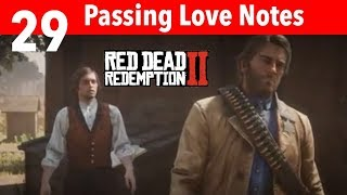Red Dead Redemption 2 Part 29-Passing Love Notes