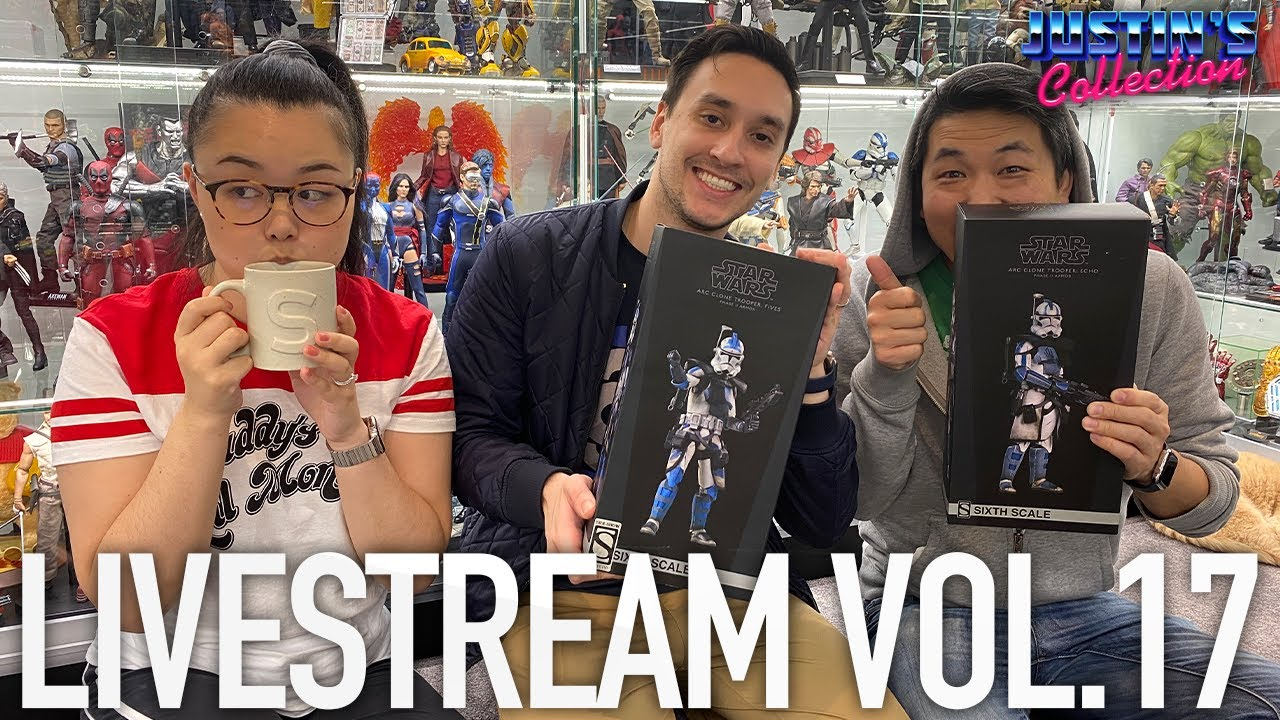 ACGHK Toy Fair Hot Toys, Sideshow Arc Troopers and Q&A - Livestream Vol.17