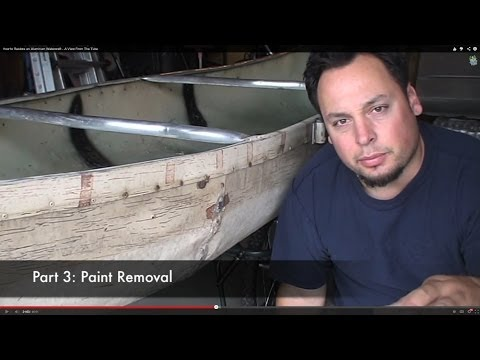 How to Restore an Aluminum Watercraft - A View From The Tube