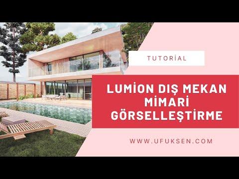 Lumion Dış Mekan Mimari Görselleştirme Eğitimi