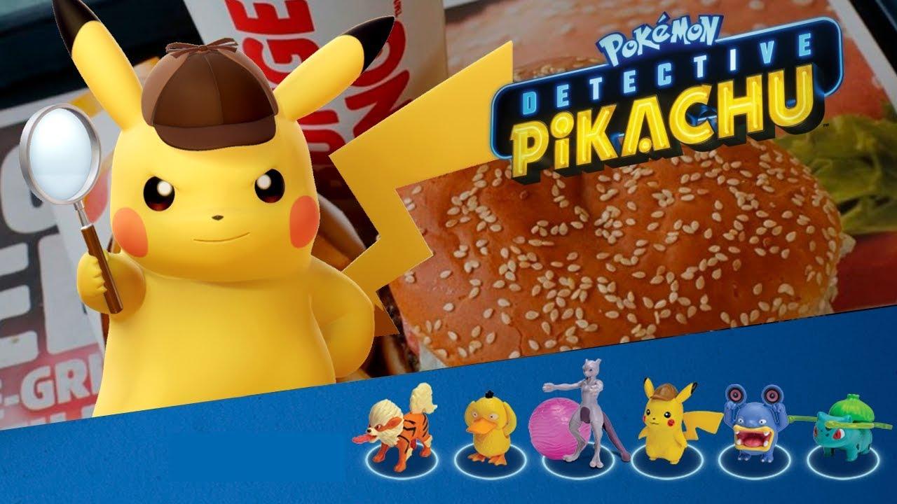 Juguetes Spacetanis De Pikachu Detective 2019 Burger King By 1JFTKcl