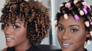 Perm Rod Set Tutorial for Natural Hair | iknowlee