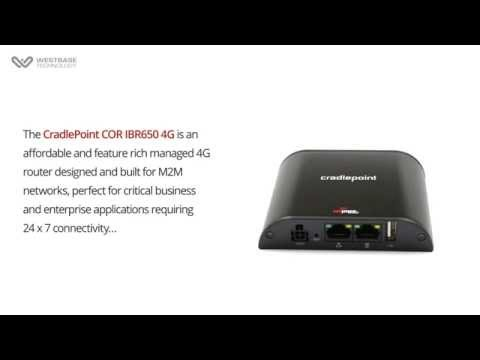 CradlePoint - COR IBR650 4G