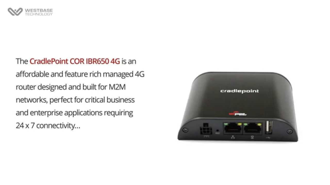 Driver for CradlePoint IBR650 Router