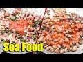 Sea Food Cooking - Asian Street Food, Fast Food Street in Asia, Cambodian Street food #274