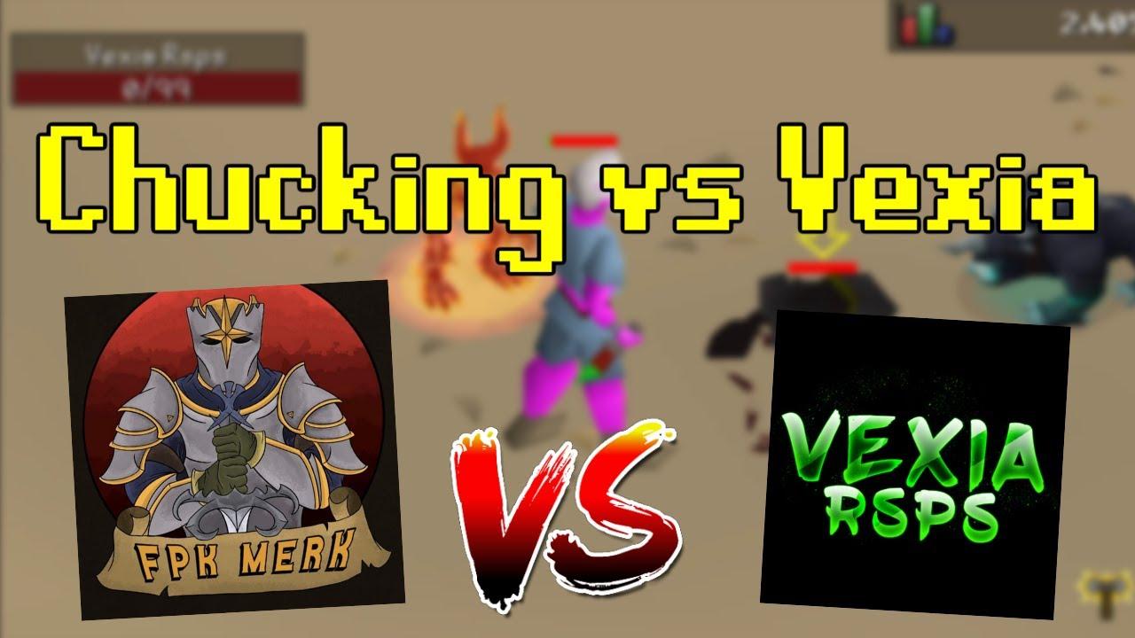 STAKING vs Vexia RSPS! *BIG CHUCKS* (GOODIEBAG WINNERS) - RoatPKZ RSPS