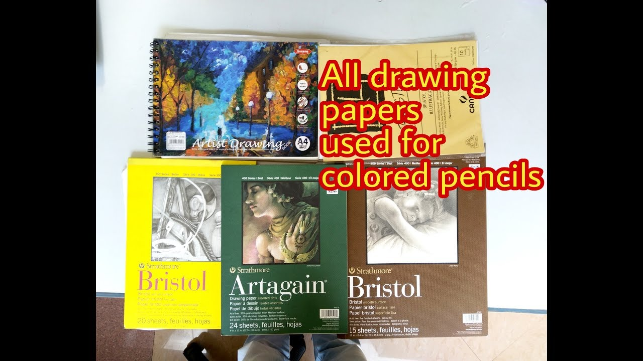 Best drawing papers for colored pencils for artists and beginners in hindi