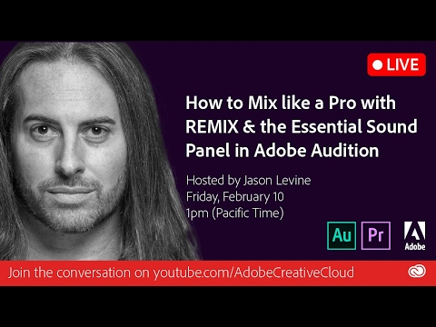 How to Mix like a Pro with Remix and Essential Sound Panel | Adobe Creative Cloud
