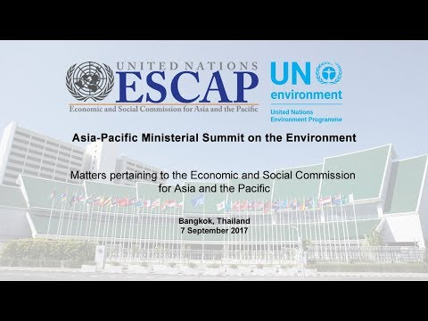 Matters Pertaining to ESCAP