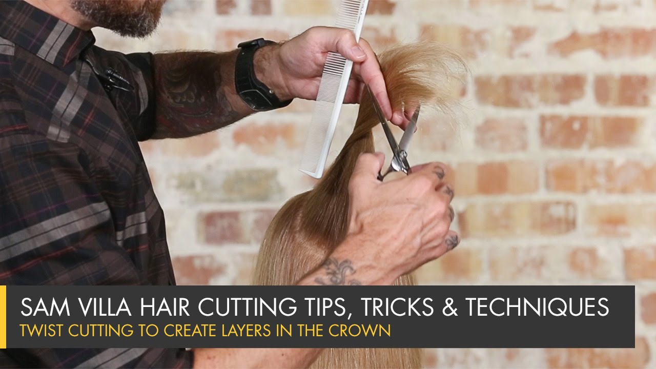 Twist Cutting to Create Layers in the Crown