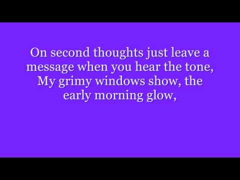 just jack - writers block (lyrics)