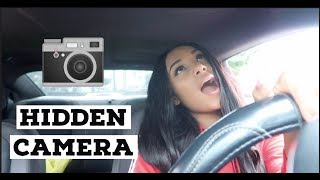 HIDDEN CAR CAMERA ON WIFE SO FUNNY