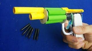видео Как сделать из бумаги пистолет