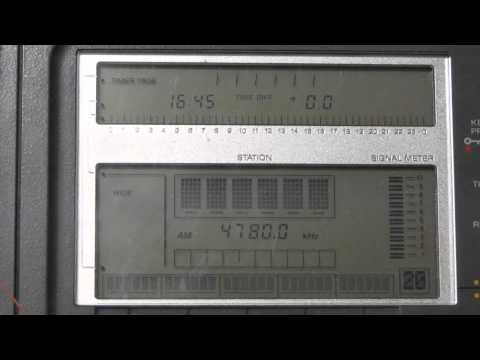 4780 kHz Radio Djibouti