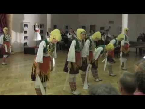 Tirana State Ensemble performing 2