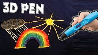 3D ручка- как нарисовать радугу тучу и солнце / 3d pen -  Rainbow. Sun, Cloud(3D ручка-Рисуем радугу тучку и солнце / 3d pen - Rainbow. Sun, Cloud Радуга всегда появляется в солнечнцю погоду и обязат..., 2016-03-04T23:11:52.000Z)