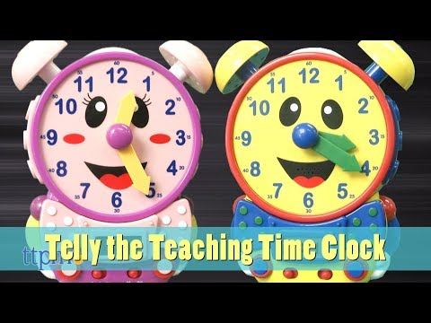 Telly the Teaching Time Clock from The Learning Journey International