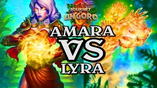 🍀🎲 Lyra the Sunshard VS Amara, Warden of Hope ~ Journey to Un