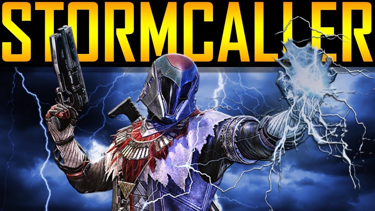 Destiny the taken king how to get stormcaller subclass youtube - Warlock stormcaller ...
