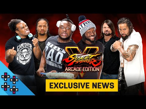 EXCLUSIVE NEWS For Street Fighter V: Arcade Edition!!
